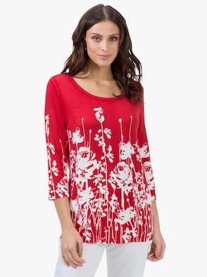 Pullover - hummer-bedruckt