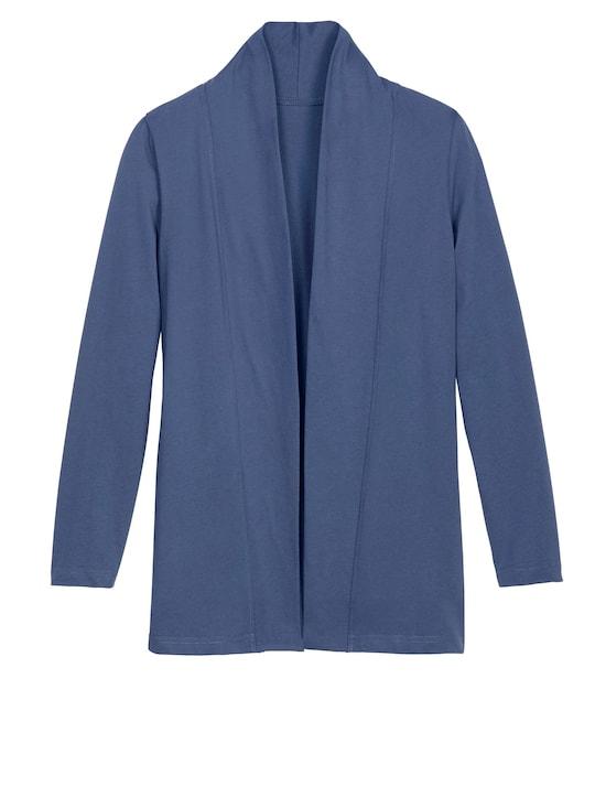 Shirtjacke - jeansblau