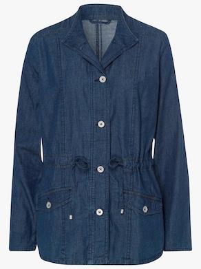Jeans-Jacke - blue-stone-washed