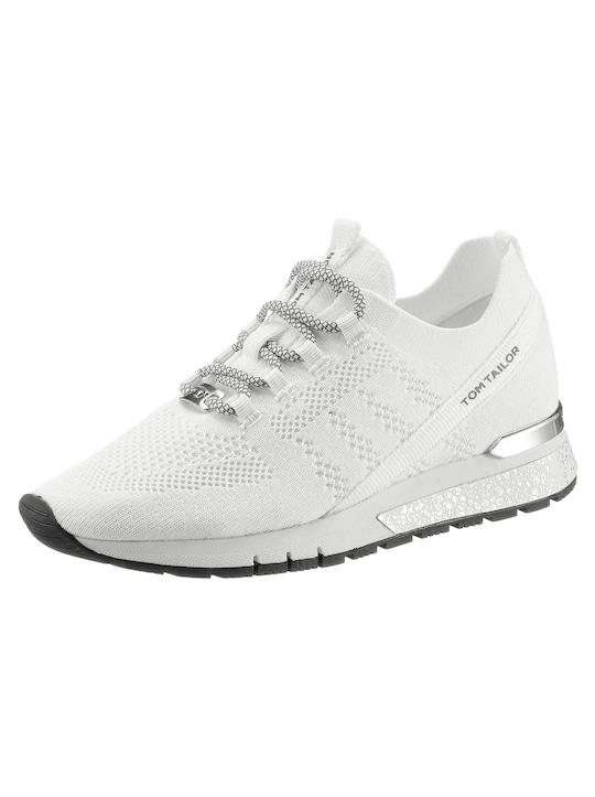 Tom Tailor Sneaker - weiß