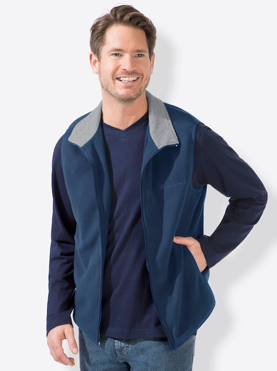 Catamaran Fleece-Weste - blau