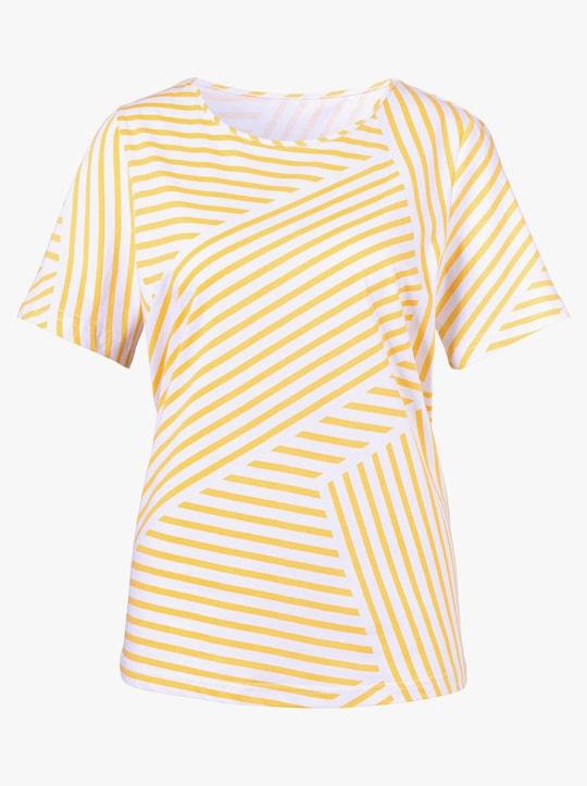 Shirt - geel gestreept