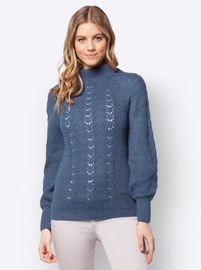 Pullover - jeansblauw