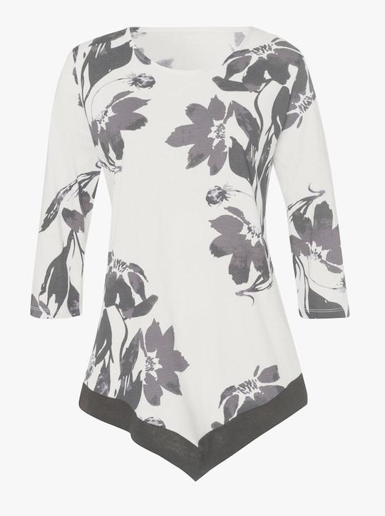 Shirt - ecru-bedruckt