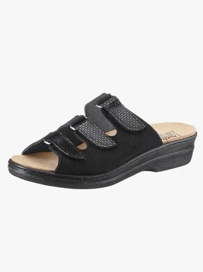 Slip in-skor - svart