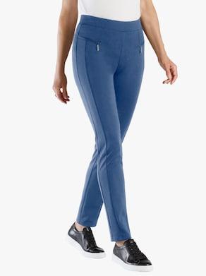 Kalhoty - džínová modrá