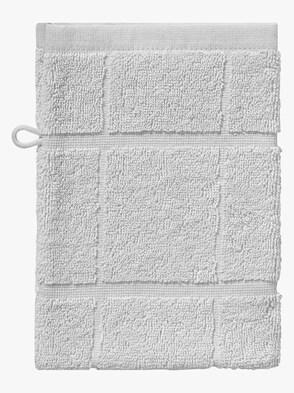 Handduk - silvergrå