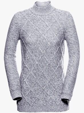 Pullover - grau-meliert