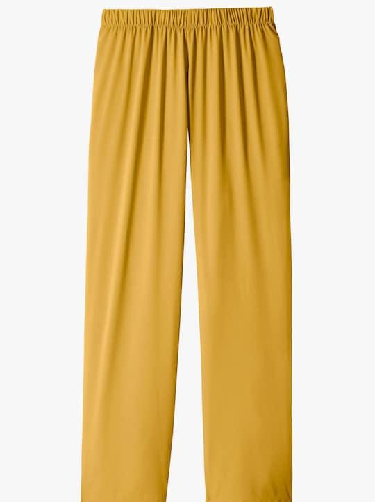Kalhoty - kukuřicová žlutá
