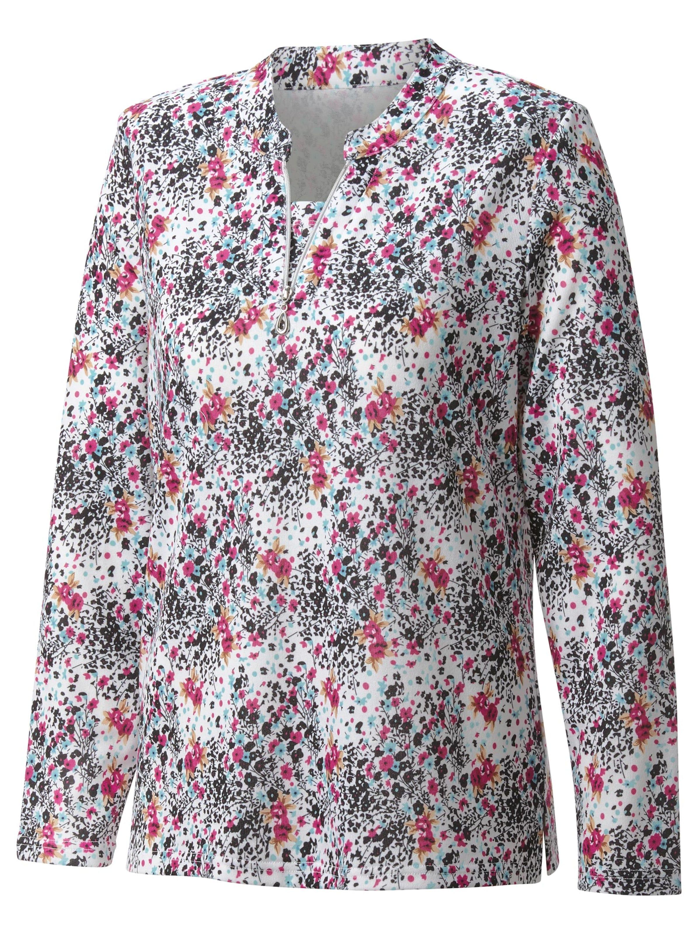 witt weiden -  Damen Winter-Shirt erika-bedruckt