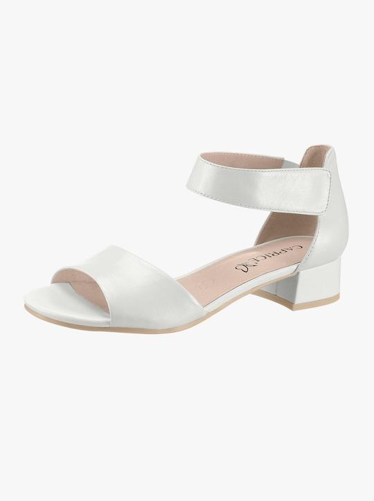 Caprice Sandalette - weiß
