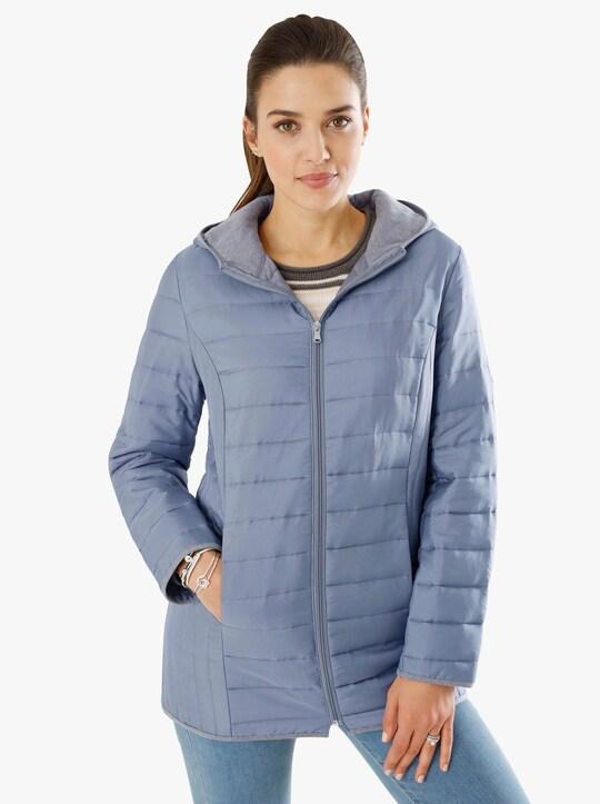 Prošívaná bunda - modrá