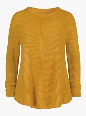 Pullover - ocker