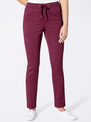 Jeans - weinrot