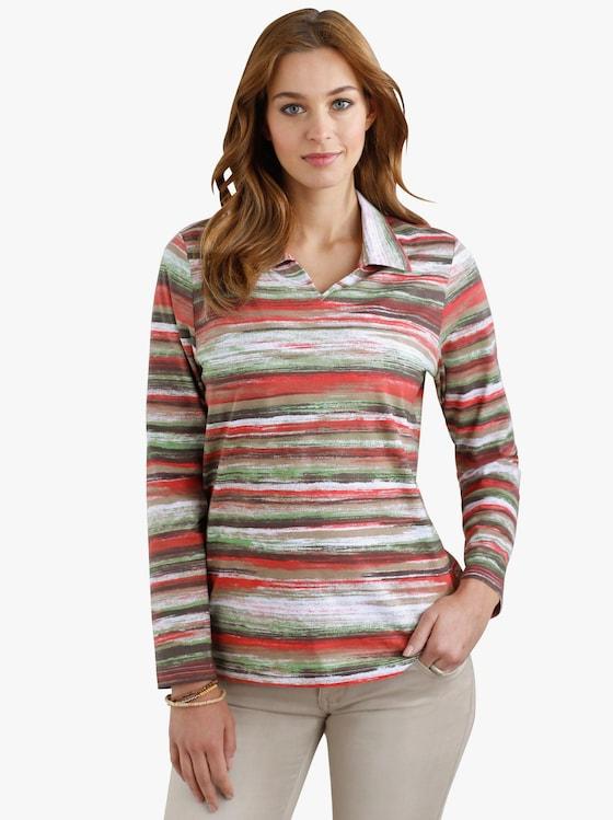 Poloshirt - bunt-bedruckt