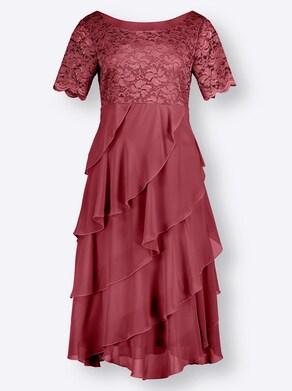 Kleid - kirsche