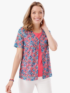 Shirtjacke - hummer-bedruckt