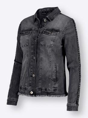 Jeans-Jacke - anthrazit-denim