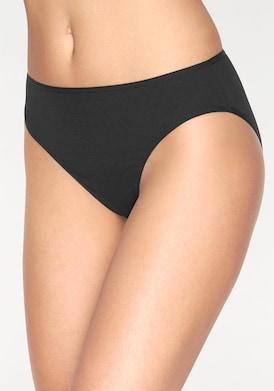 Go in Bikinislip - schwarz
