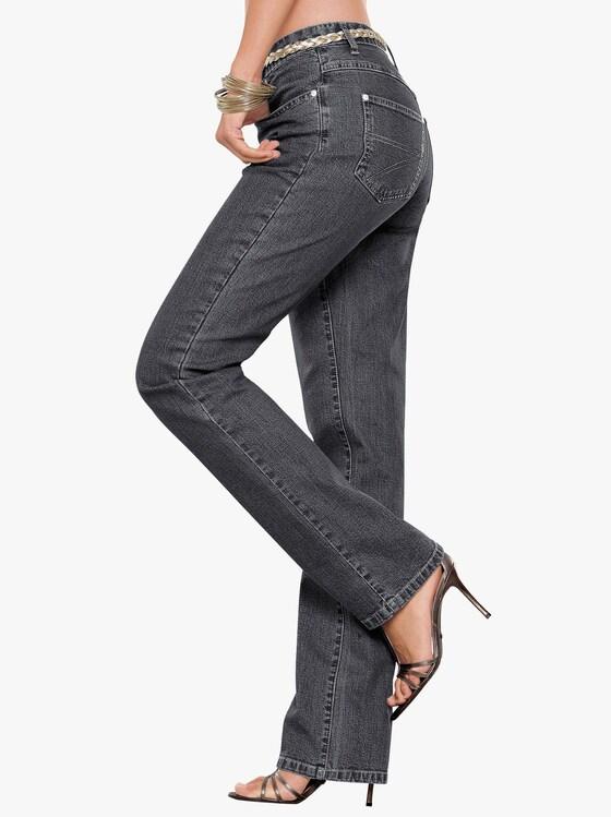 Collection L Jeans - anthrazit-denim