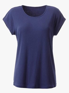 Shirt - nachtblauw