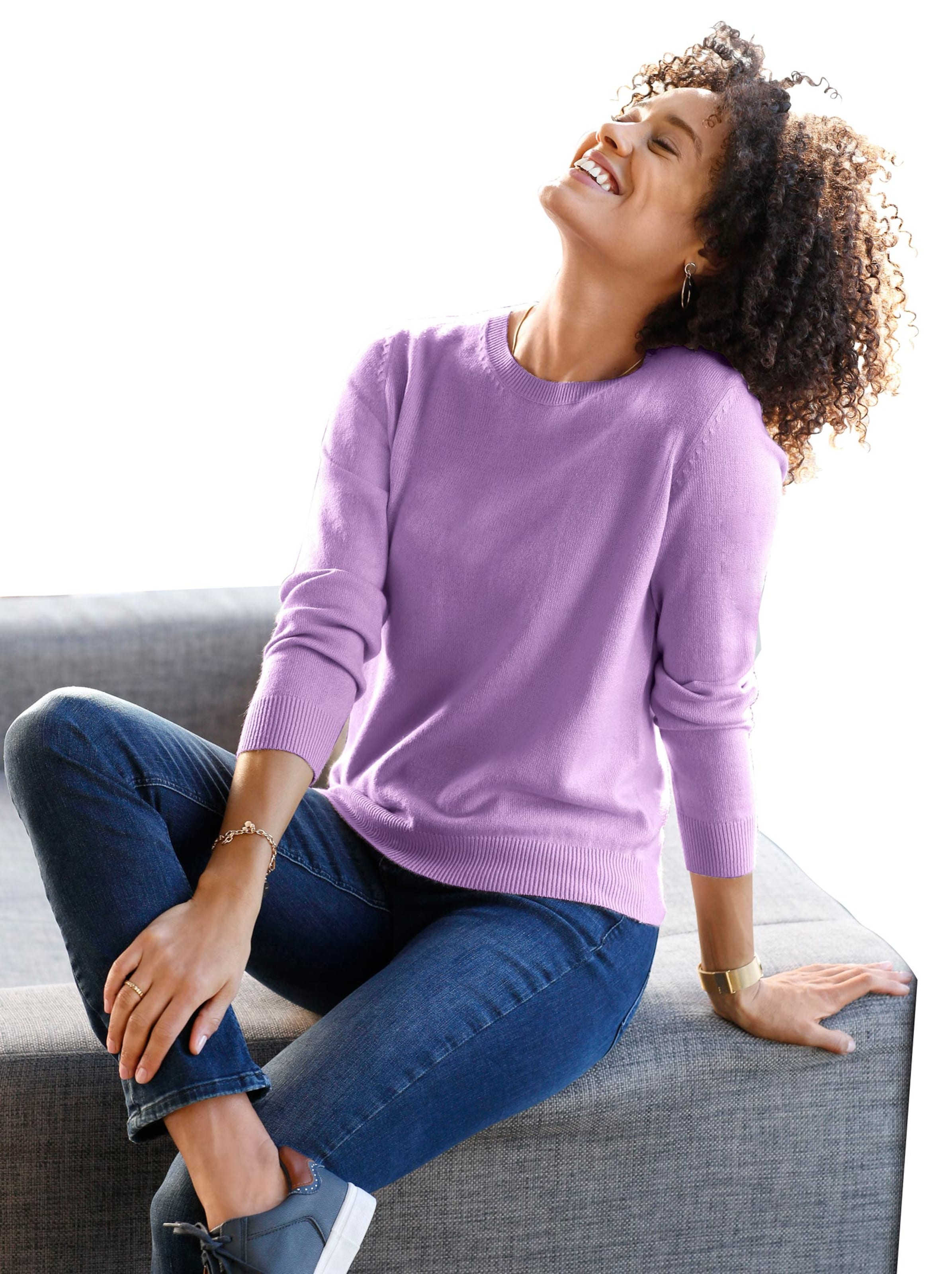 witt weiden -  Damen Pullover flieder