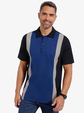 Poloshirt - marine-blau