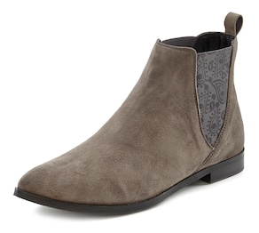 LASCANA Chelseaboots - taupe