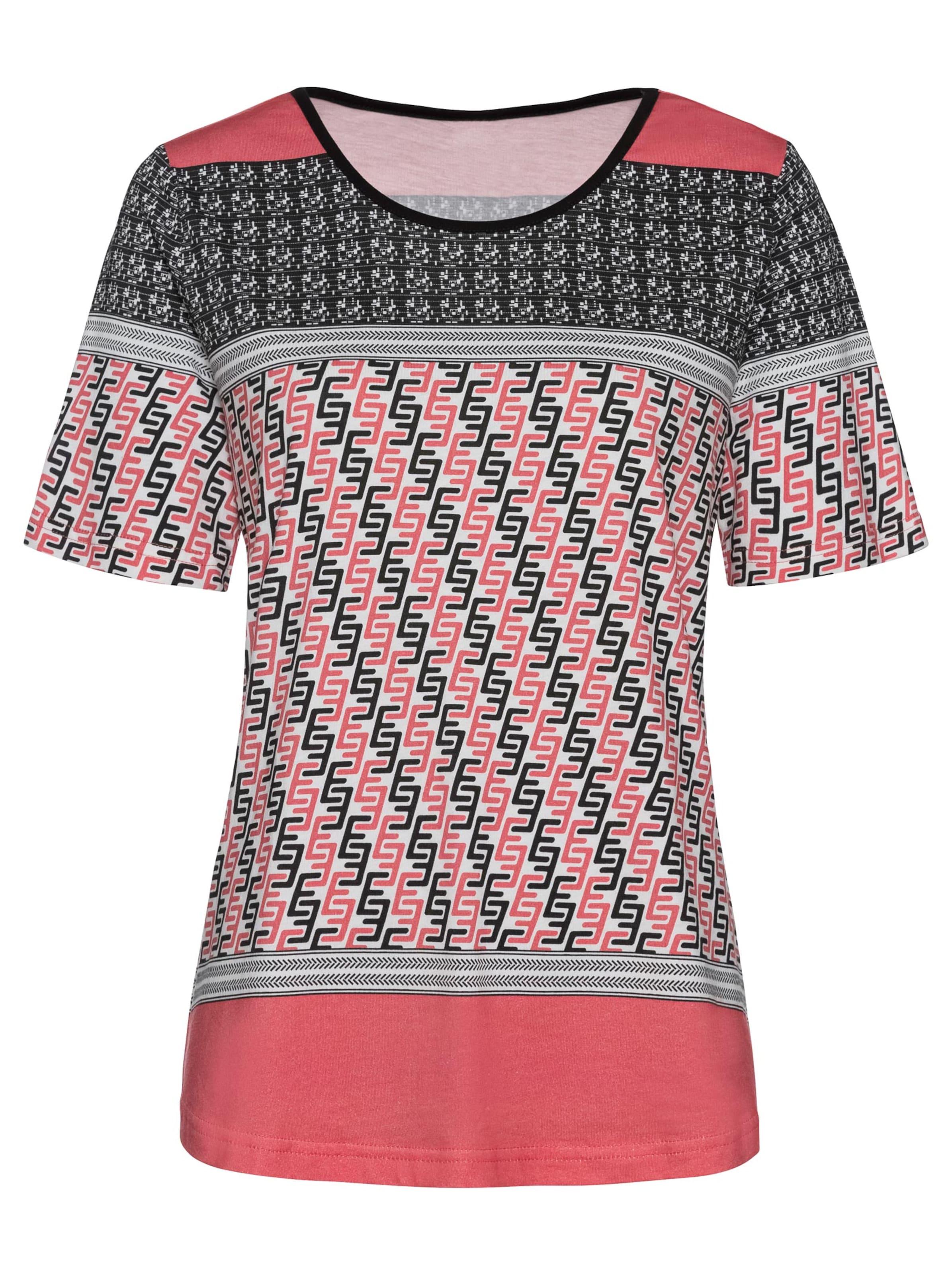 witt weiden -  Damen Shirt hummer-schwarz-bedruckt