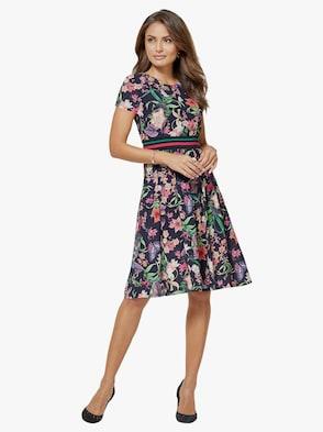 Kleid - bunt-bedruckt