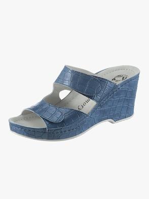 Pantolette - jeansblau
