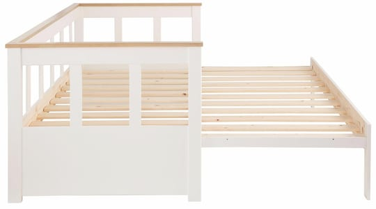 Home affaire Daybett - weiß/honigfarben