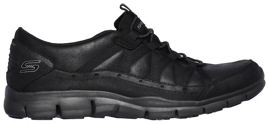 Skechers Slip-on sneaker - zwart