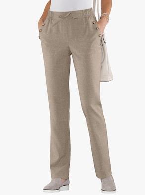 Kalhoty - taupe