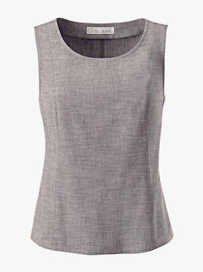 Collection L Blusentop - taupe