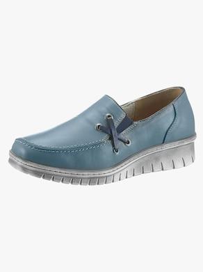 Loretta Slipper - jeansblau
