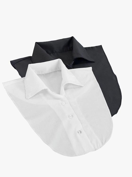 Blusenkragen - weiß