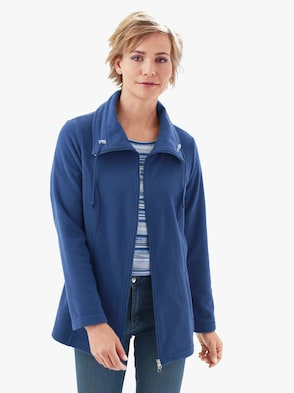 Fleece-Jacke - marine