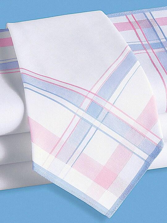 Damen-Taschentücher - farbig-sortiert