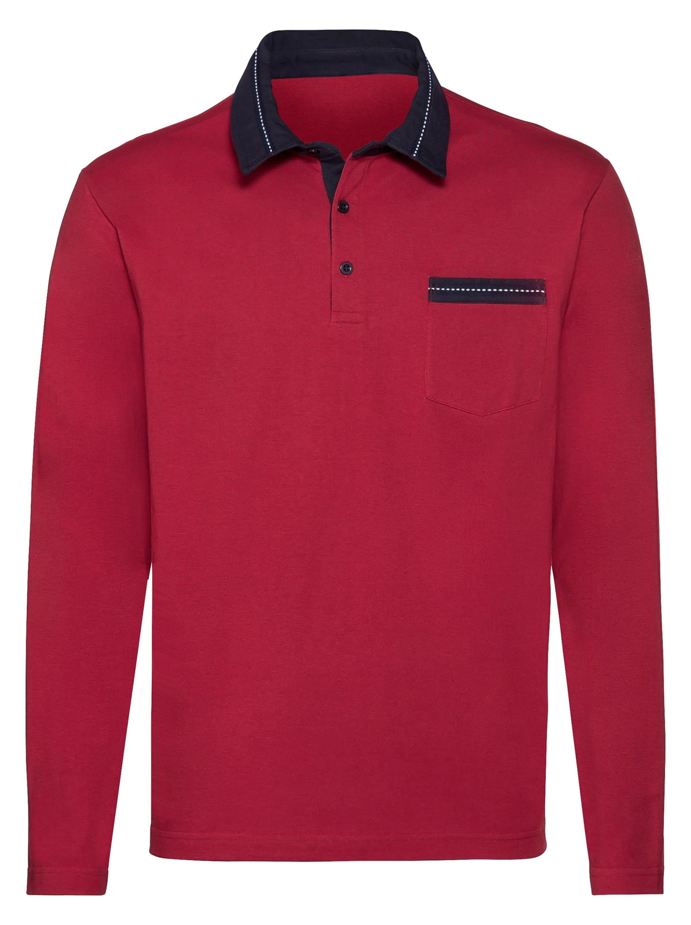 catamaran - Witt Weiden Herren Langarm-Shirt rot