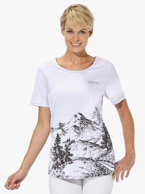 Tričko pro volný čas - bílá