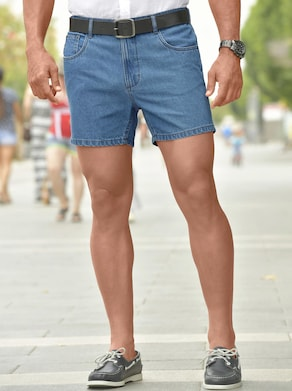Catamaran Jeans-Shorts - blue-bleached