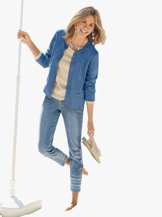 Mainpol Blazer - jeansblau