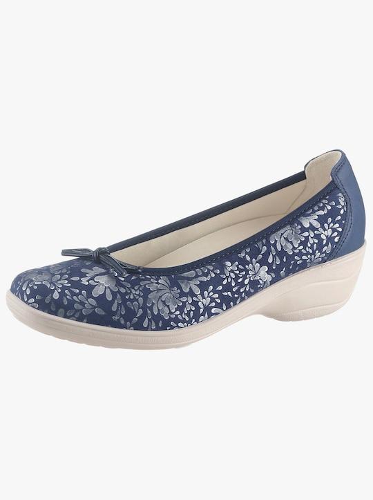 tosoft Ballerina - blau-gemustert
