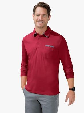 Langarm-Shirt - rot