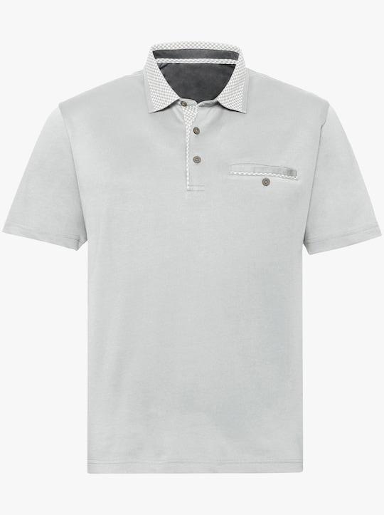 Hajo Tričko s krátkým rukávem - světlešedá