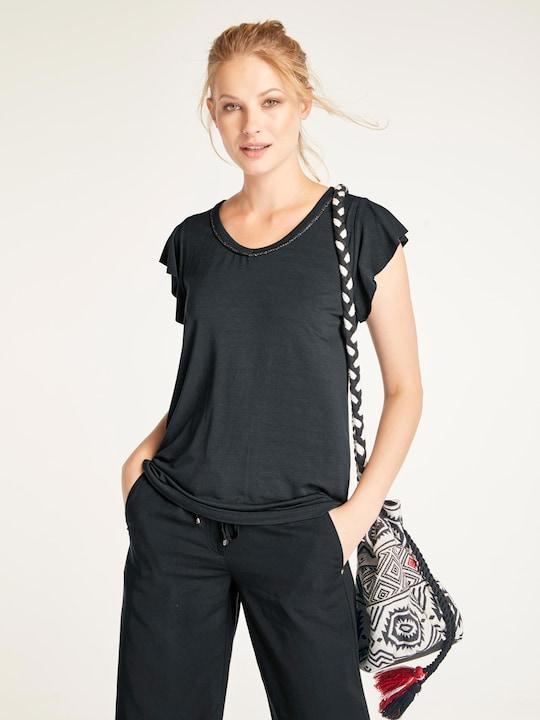 Linea Tesini Shirt - schwarz