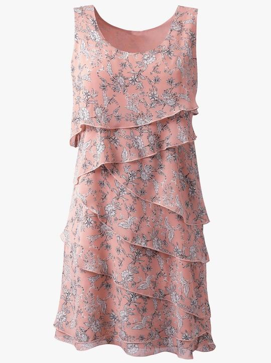 Kleid - puder-bedruckt