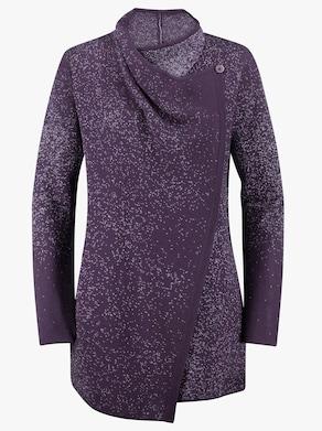 Strickjacke - violett