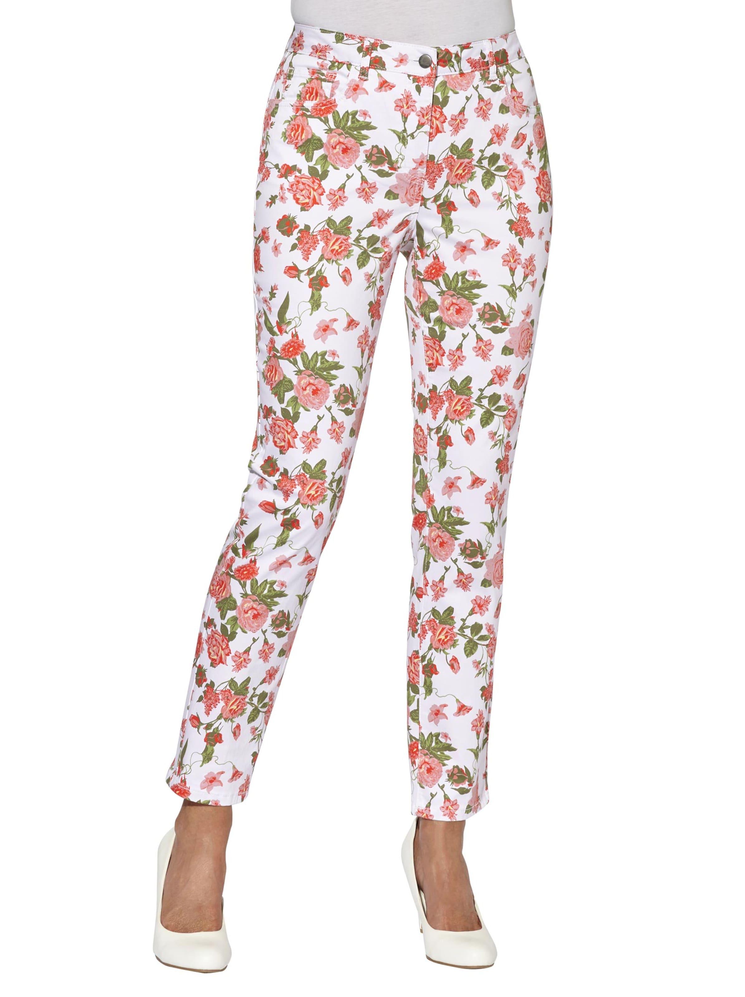 witt weiden -  Damen Hose flamingo-bedruckt
